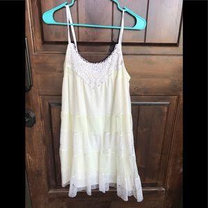 Dresses & Skirts - Off white, lace dress 💕